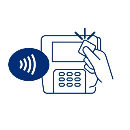Visa contactless POS machine